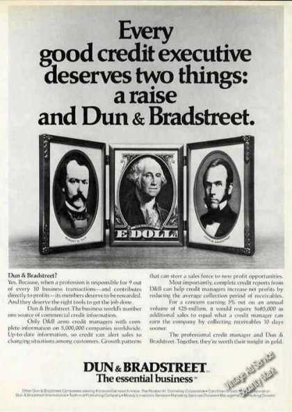 Dun & Bradstreet the Essential Business (1978)