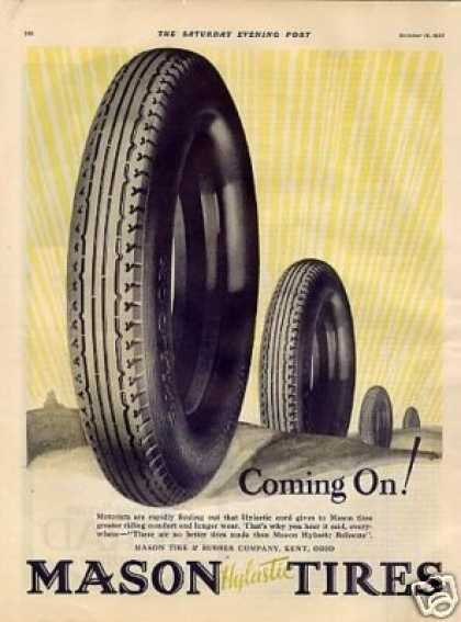 Mason Tires Color (1927)