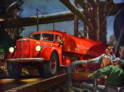 How many dollars is a good truck worth? Mack trucks (1945)