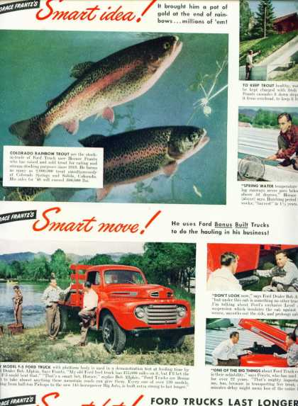 Ford Trucks Trout Farmer Horace Frantz C (1950)