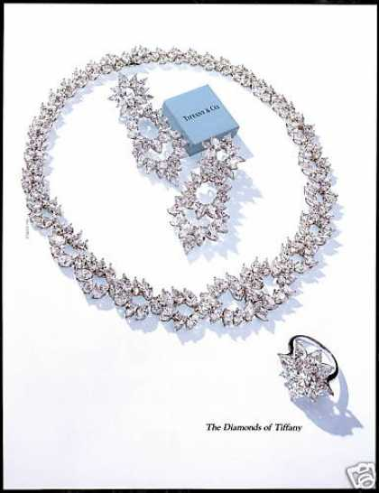 Diamond Jewelry Photo Tiffany & Co (1990)