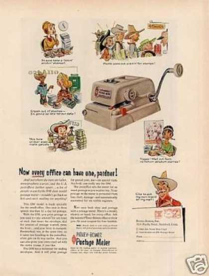 Pitney-bowes Postage Meter (1957)