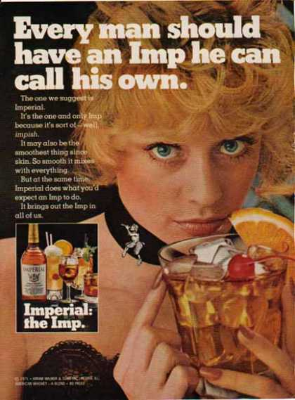 Imperial Whiskey – Every man should have an Imp (1975)
