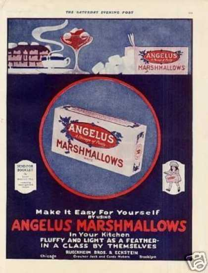 Angelus Marshmallows Color (1920)