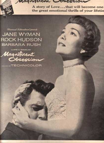 Magnificent Obsession (Jane Wyman, Rock Hudson and Barbara Rush) (1954)