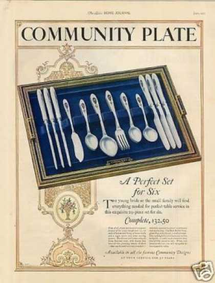 Community Silverplate Color (1925)