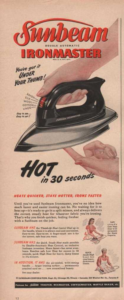 Sunbeam Automatic Iron Master (1949)