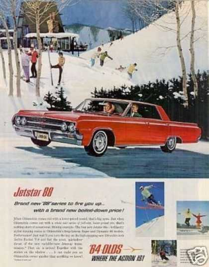 Oldsmobile Jetstar 88 Car (1964)