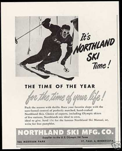 Northland Snow Ski MFG Time Of Your Life (1948)