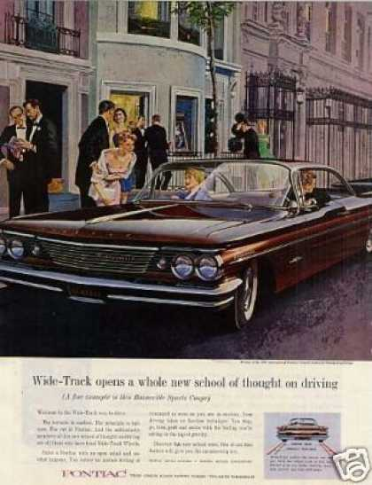 Pontiac Bonneville Car (1960)
