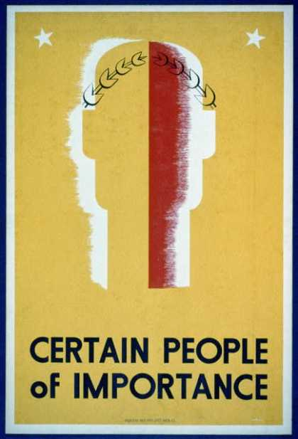 Certain people of importance. (1936)