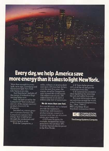 New York City WTC Towers Combustion Engineering (1977)