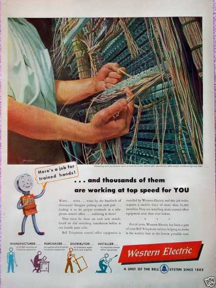 Western Electric Switchboard Wiring Insulation (1948)