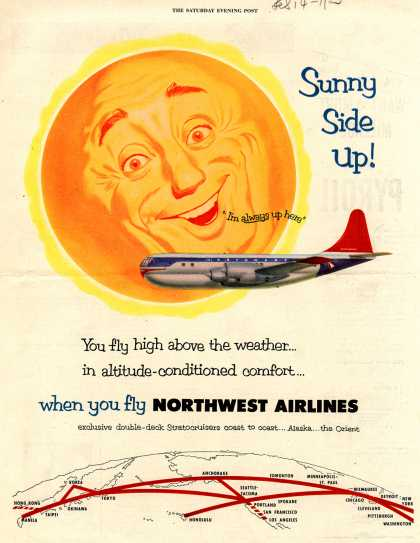 Northwest Airlines – Sunny Side Up (1953)