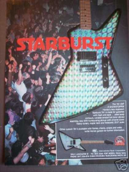 Hondo Starburst 781 Electric Guitar (1983)