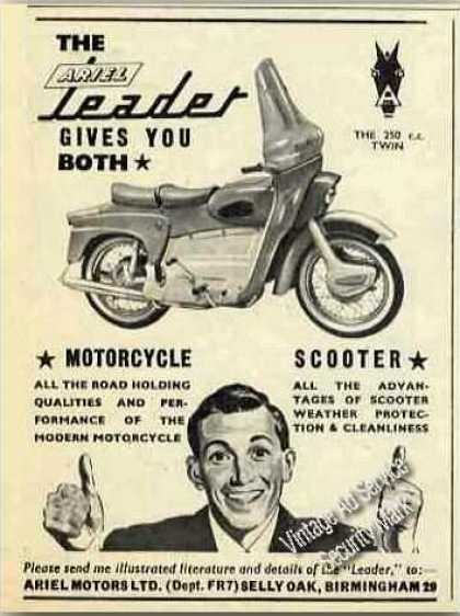 Ariel Leader Photo Motorcycle/scoo (1960)