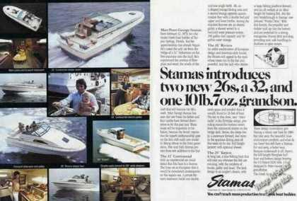 Stamas Yachts Multiple Boat Photos (1980)