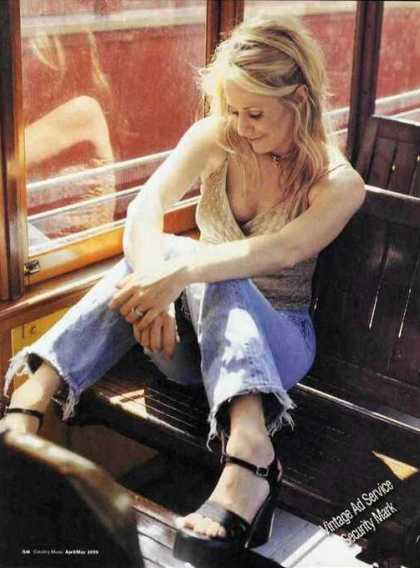 Deana Carter Magazine Photo Nice Print Feature (1999)