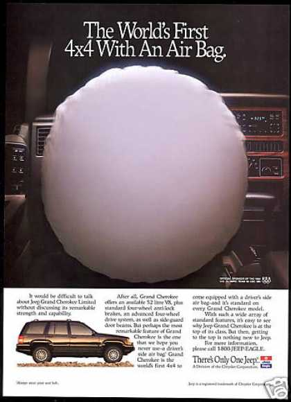 Jeep Grand Cherokee Limited Air Bag (1994)