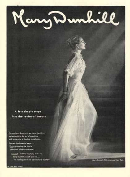 Mary Dunhill 5th Avenue Fashion Dress (1946)