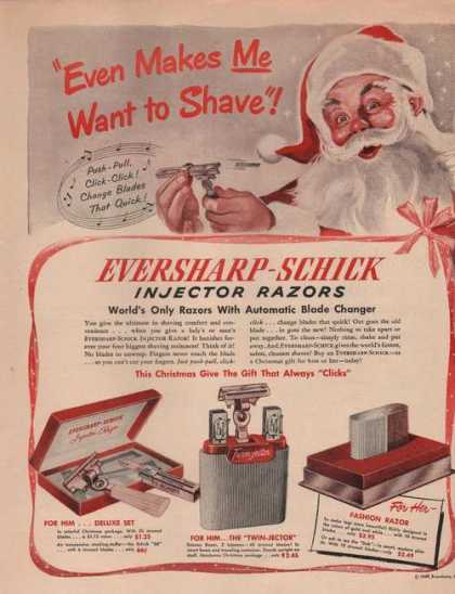 Schick Electric Shaversant (1949)