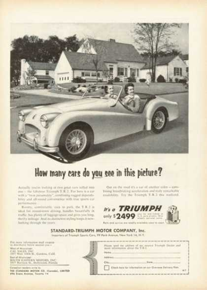 Triumph Tr 2 Sports Car (1955)