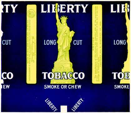 American Tobacco Co.'s Long Cut Tobacco – Liberty