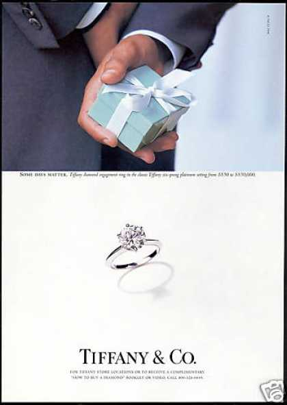 Tiffany & Co Diamond Engagement Ring (1998)