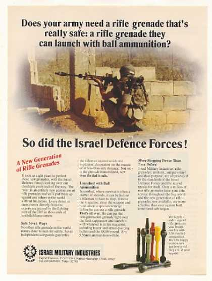 Israel Military Industries Rifle Grenades (1987)