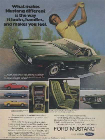 Ford's Mustang/ Cobra (1972)