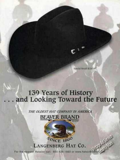 "Beaver Brand Hats ""139 Years of History"" (1999)"