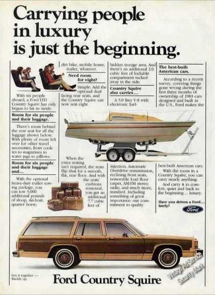"Ford Country Squire ""Just the Beginning"" Car (1984)"
