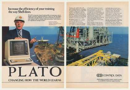 Shell Oil Cognac Control Data PLATO Computer 2P (1982)