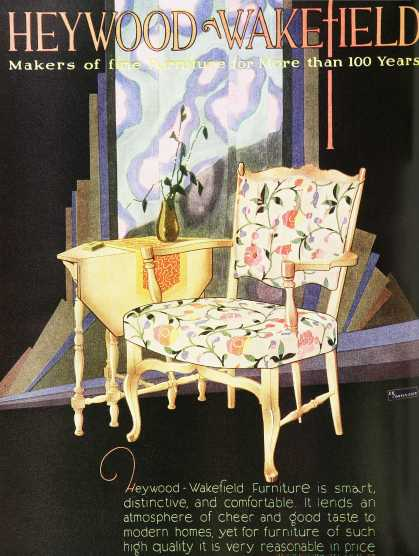 Vintage Furniture Ads of the 1920s