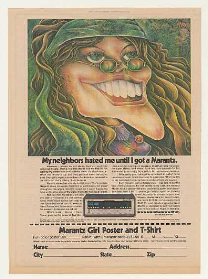 Marantz 4230 Stereo Girl Neighbors Hated Me (1974)