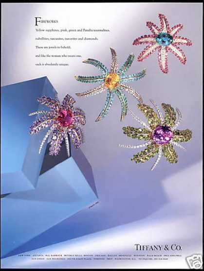Tiffany & Co Fireworks Jewelry Photo (1993)