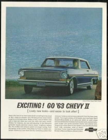 Chevrolet Chevy II Nova SS Coupe Photo Vintage (1963)