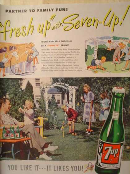 7 Up You like it, it likes you (1947)