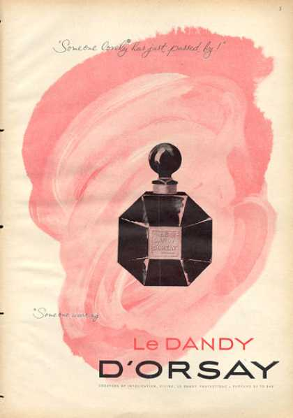 Le Dandy D'orsay Bottle Perfume (1953)