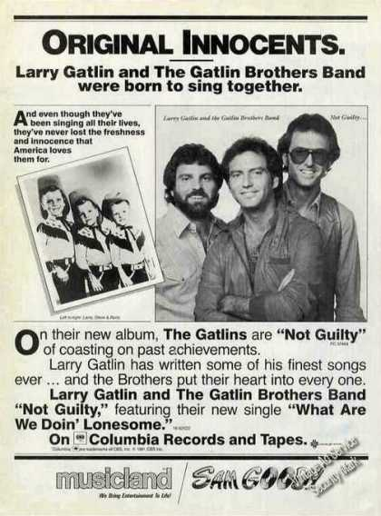 Larry Gatlin & the Gatlin Brothers Music (1981)