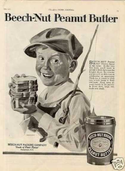 Beech-nut Peanut Butter (1921)
