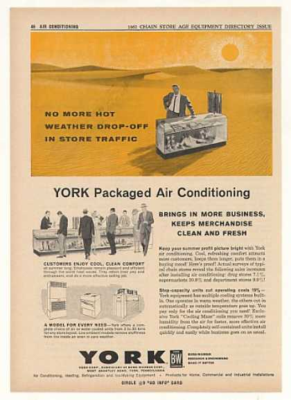 York Packaged Air Conditioning Store Trade (1961)