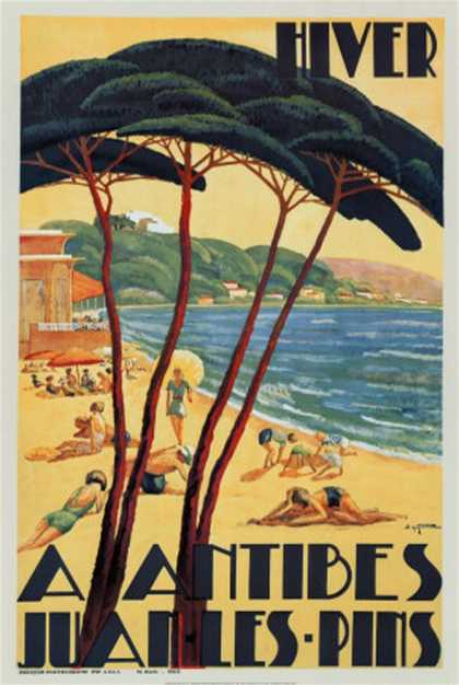 Antibes in Winter (1930)