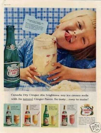 Canada Dry Ginger Ale (1957)