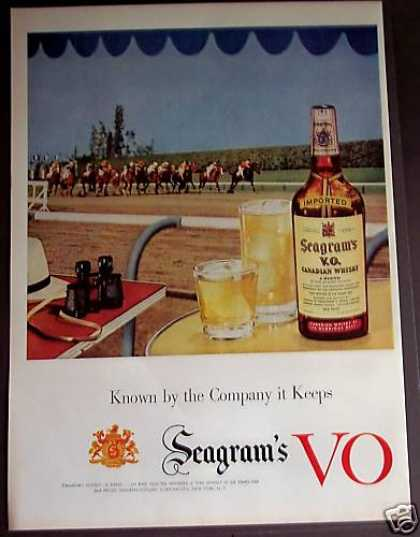 Seagram's Vo Canadian Whisky (1953)