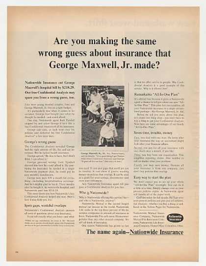 George Maxwell Mt Joy PA Nationwide Insurance (1964)