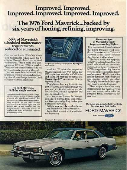 Ford's Maverick (1975)