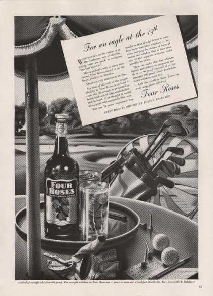 Four Roses Whiskies Golf Clubs (1939)