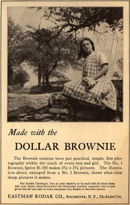 Kodak's Brownie cameras – Made with the Dollar Brownie (1914)