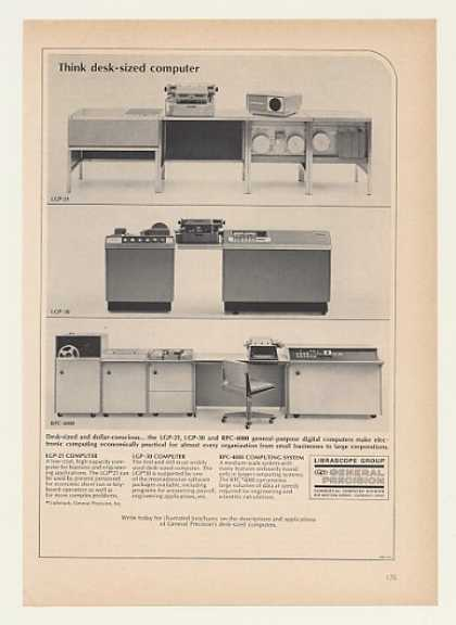 General Precision LGP-21 -30 RPC-4000 Computers (1964)